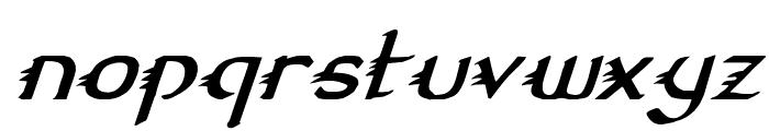 Gypsy Road Italic Font LOWERCASE