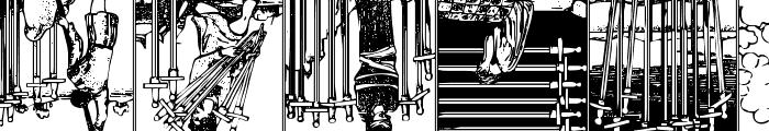 Gypsy Tarot-Minor Arcana Inverted Font UPPERCASE