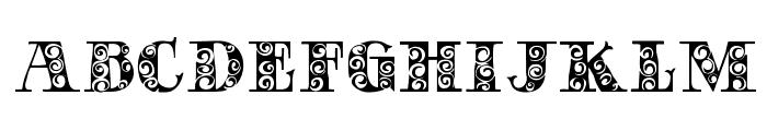 GypsyRose Font UPPERCASE