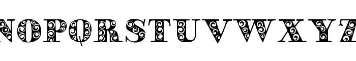 GypsyRose Font LOWERCASE