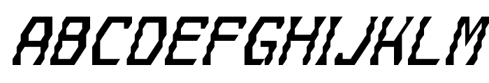 Gyrussian Font LOWERCASE