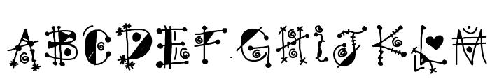 gypsy Font UPPERCASE