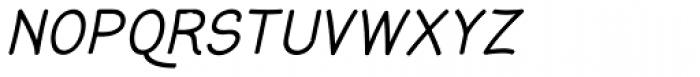 Gyant Bold Oblique Font UPPERCASE