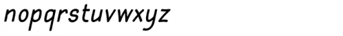 Gyant Bold Oblique Font LOWERCASE