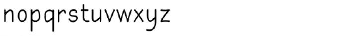 Gyant Font LOWERCASE