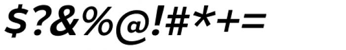 Gymkhana Italic Font OTHER CHARS