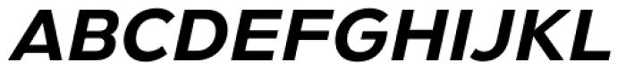 Gymkhana Italic Font UPPERCASE