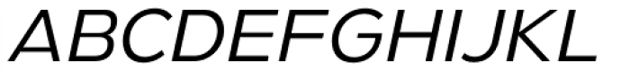 Gymkhana Light Italic Font UPPERCASE