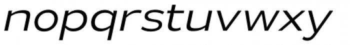 Gymkhana Light Italic Font LOWERCASE