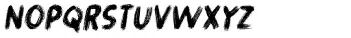 Gymnastik Italic Font UPPERCASE