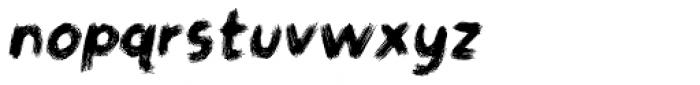 Gymnastik Italic Font LOWERCASE