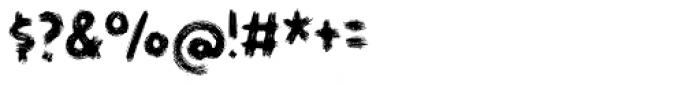 Gymnastik Font OTHER CHARS