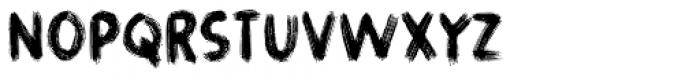 Gymnastik Font UPPERCASE