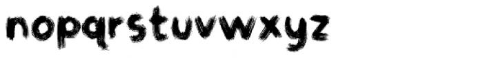 Gymnastik Font LOWERCASE