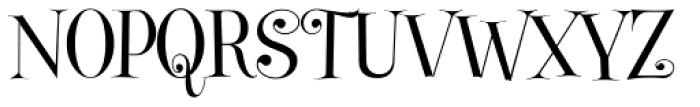 Gypsy Switch JF Font UPPERCASE