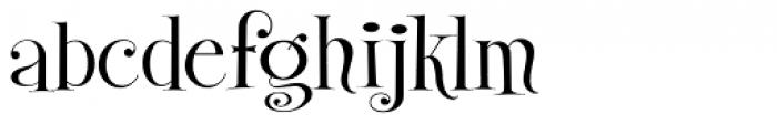 Gypsy Switch JF Font LOWERCASE