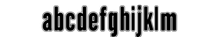 H.H.Agallas Font LOWERCASE