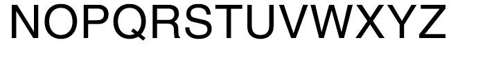 H Central Regular Font UPPERCASE
