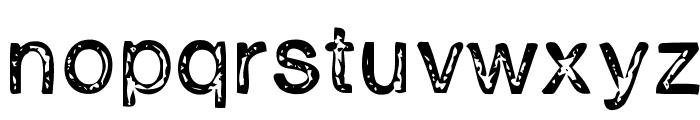H2D2-Alevita Rough Font LOWERCASE