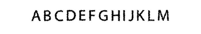 H4 Bushes Font Regular Font UPPERCASE