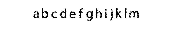 H4 Bushes Font Regular Font LOWERCASE