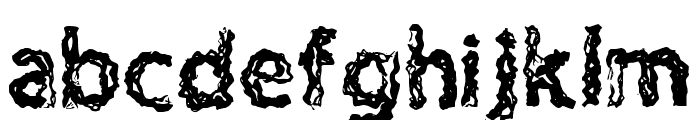 H4 Charcoal Font Regular Font LOWERCASE