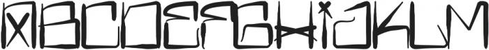 H74 Bitch Please otf (400) Font UPPERCASE