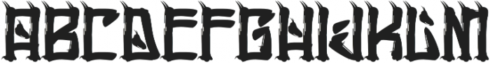 H74 Chingon otf (400) Font LOWERCASE