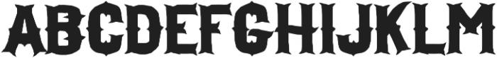 H74 Drop Anchor otf (400) Font UPPERCASE