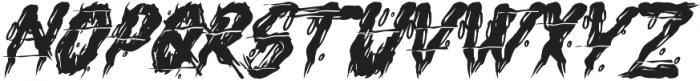 H74 Executioner otf (400) Font UPPERCASE