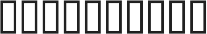 H74 Major Jackov otf (400) Font OTHER CHARS