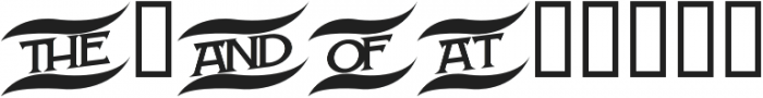 H74 Monniker otf (400) Font OTHER CHARS