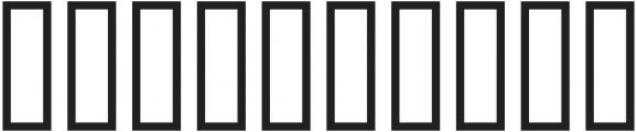 H74 The Order UltraBlack otf (900) Font OTHER CHARS