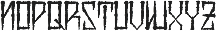 H74 Viper Black ttf (900) Font LOWERCASE