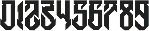 H74 Witches otf (400) Font OTHER CHARS