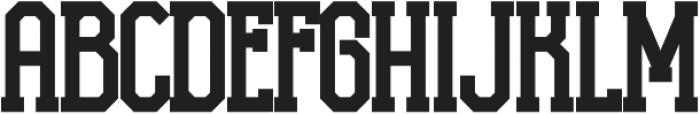 H74 ZombieHeadshot otf (400) Font UPPERCASE