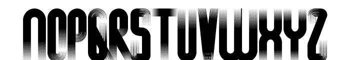 H74 Conquest Bold Font LOWERCASE