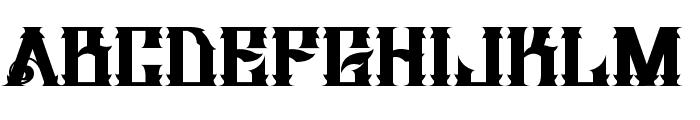H74 Dirty Sanchez Font LOWERCASE