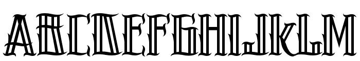 H74 Pistola Font LOWERCASE