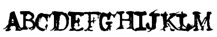 H74 Proclivity dark Font UPPERCASE
