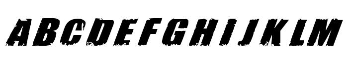 H74 Revolution Font UPPERCASE