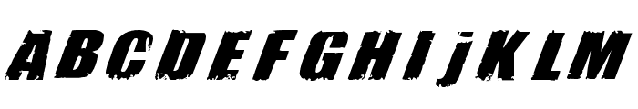 H74 Revolution Font LOWERCASE