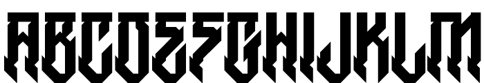 H74 Witches Regular Font LOWERCASE