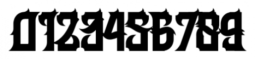H74 Her Majesty Regular Font OTHER CHARS