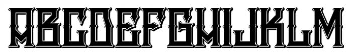 H74 Snake Whiskey ExtraBold Font UPPERCASE