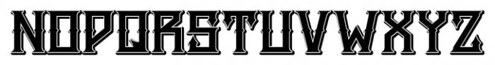H74 Snake Whiskey ExtraBold Font LOWERCASE