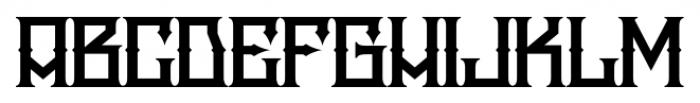 H74 Snake Whiskey Regular Font LOWERCASE