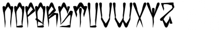 H74 Kustom Style Font UPPERCASE
