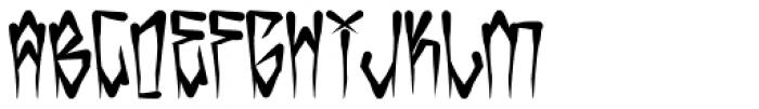 H74 Kustom Style Font LOWERCASE