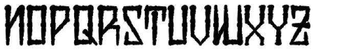 H74 Viper Black Bold Font LOWERCASE